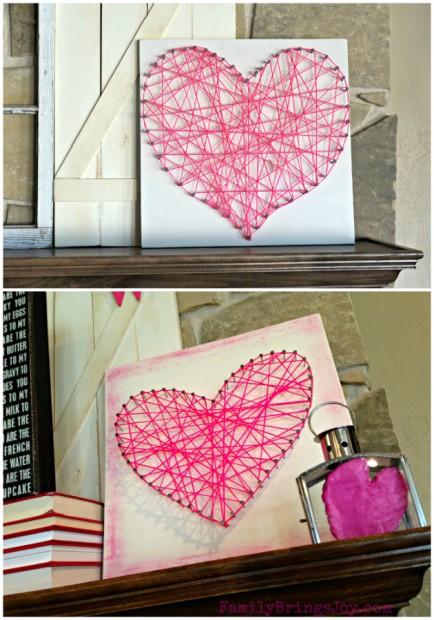 stringed heart sculpture familybringsjoy.com
