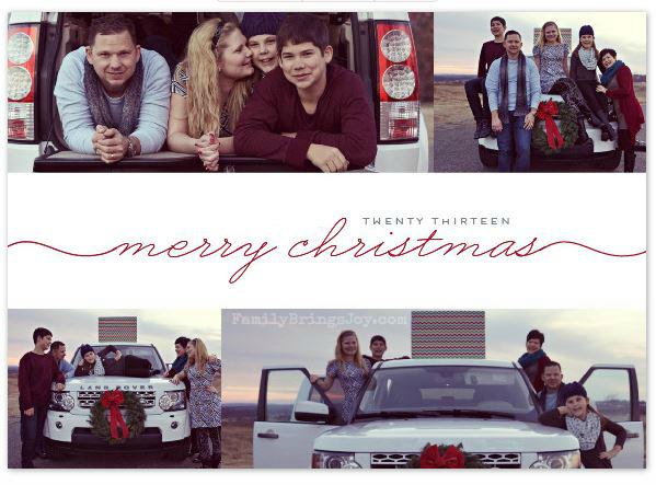 2013 Christmas Card familybringsjoy.com