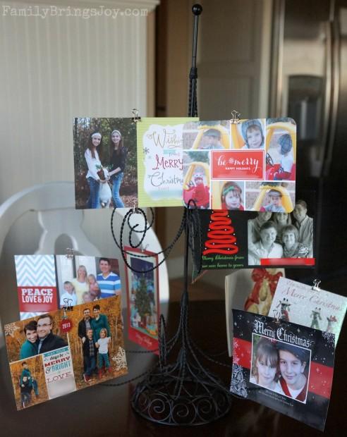 Christmas Tree Card Holder familybringsjoy.com