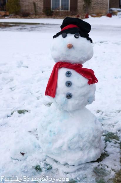 our snowman familybringsjoy.com