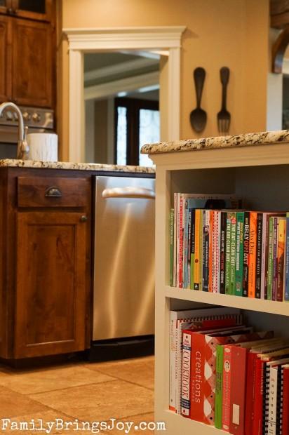 kitchen book niche familybringsjoy