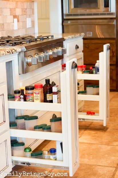 Custom Kitchen storage familybringsjoy.com