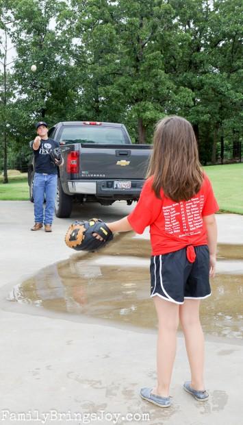 playing catch familybringsjoy