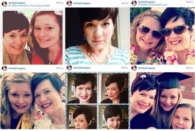 Instagram Hair Collage familybringsjoy.com